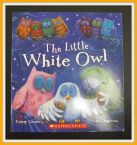 colour white owl book