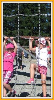 Peyton & Lauren At The Playground