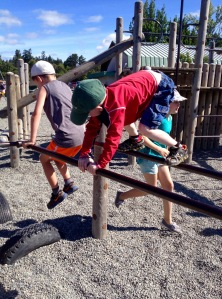 Joe ~ Playground Obstacle Course