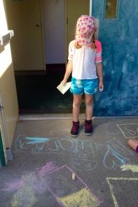Brianna ~ Sidewalk Chalk